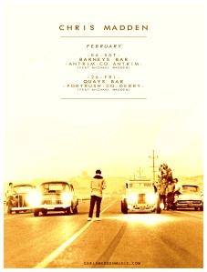 44 - February Gig Poster