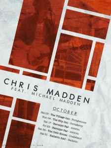 October Gig Poster