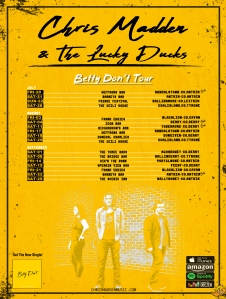 Betty Don't Tour - Poster